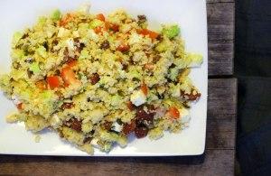 Met de restjes uit de koelkast kun je een heerlijke couscoussalade maken.