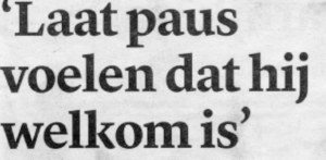 (Trouw, 3 feb 2014)