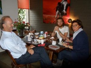 Kennismaken met Ernst, Willem en Jacomine van der Schans.
