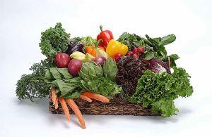 groente in mand
