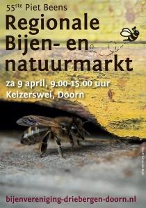 Poster Bijenmarkt 2016