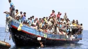 bootje vluchtelingen