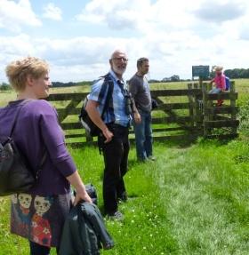 Excursie met A Rocha in het Groene Hart.