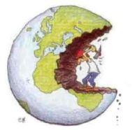 aantasten aarde