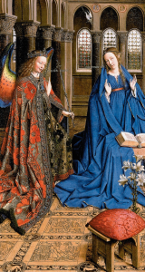 annuntiatie Jan van Eyck