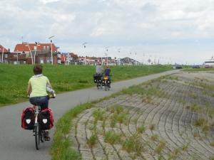 fietsen dijk Breskens