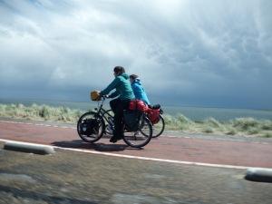fietsen Zeeland dijk