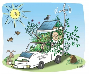 cartoon laudato si