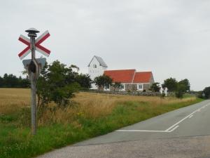 Denemarken wit kerkje