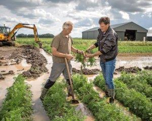 wateroverlast landbouw