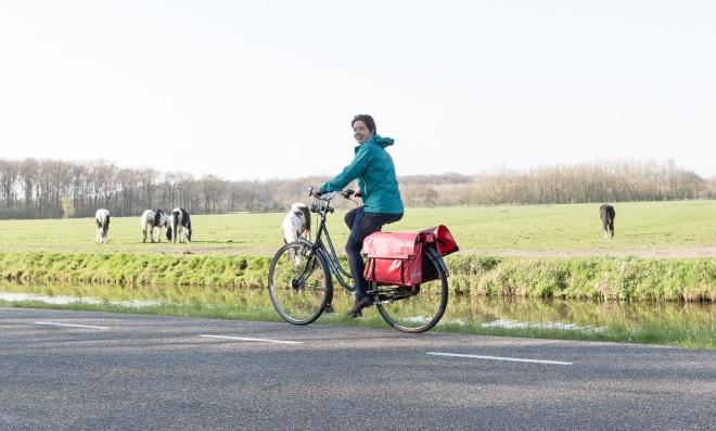 Marjo fiets (Jorik Algra)
