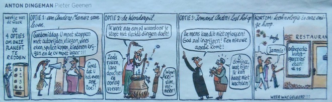 cartoon Trouw sep 2018