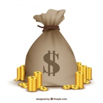 bag-with-the-dollar-symbol-and-golden-coins_23-2147638210